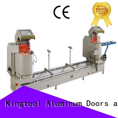 aluminium cutting machine price wall angle single-head Warranty kingtool aluminium machinery