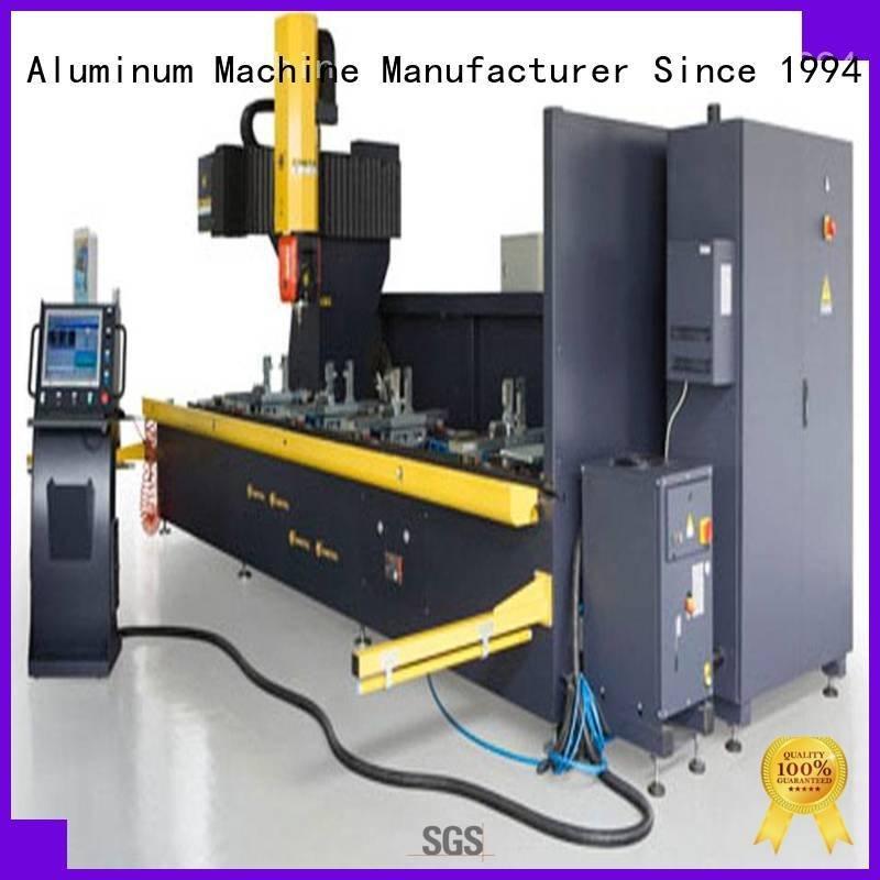 Hot cnc router aluminum panel kingtool aluminium machinery Brand