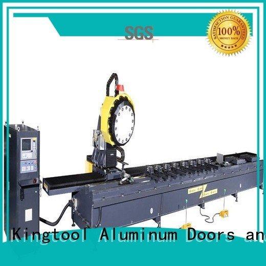 cnc router aluminum head kingtool aluminium machinery Brand aluminium router machine
