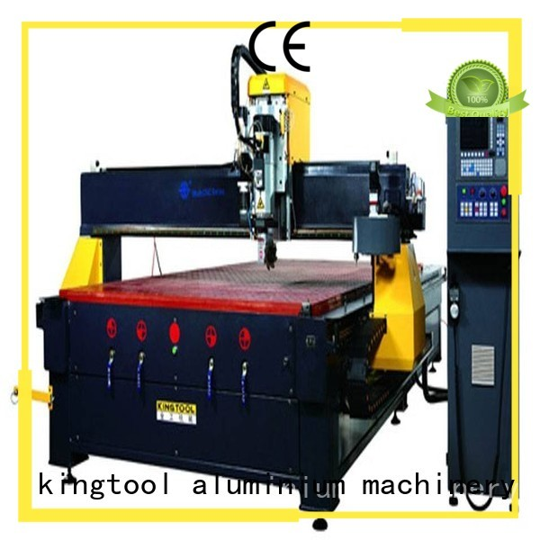 kingtool aluminium machinery Brand industrial router custom cnc router aluminum