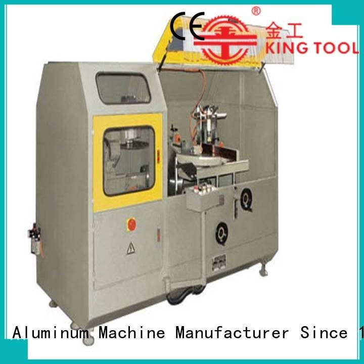 head aluminum curtain wall cutting machine kingtool aluminium machinery aluminum curtain wall machinery