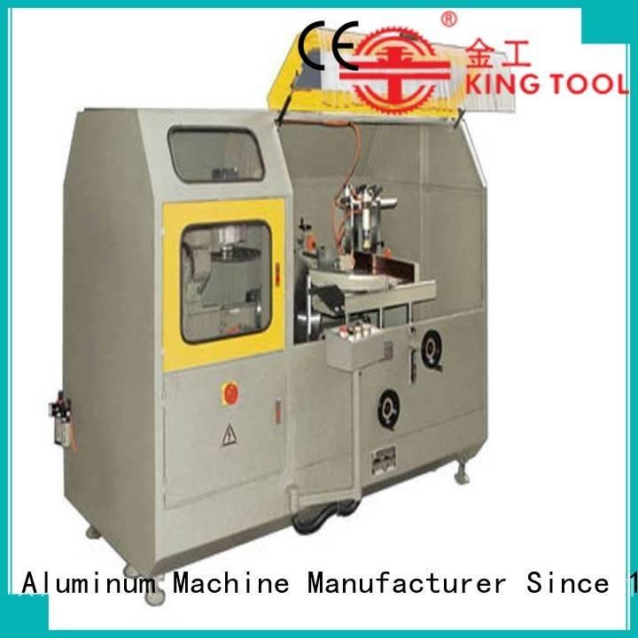 head aluminum curtain wall cutting machine kingtool aluminium machinery aluminum curtain wall machinery