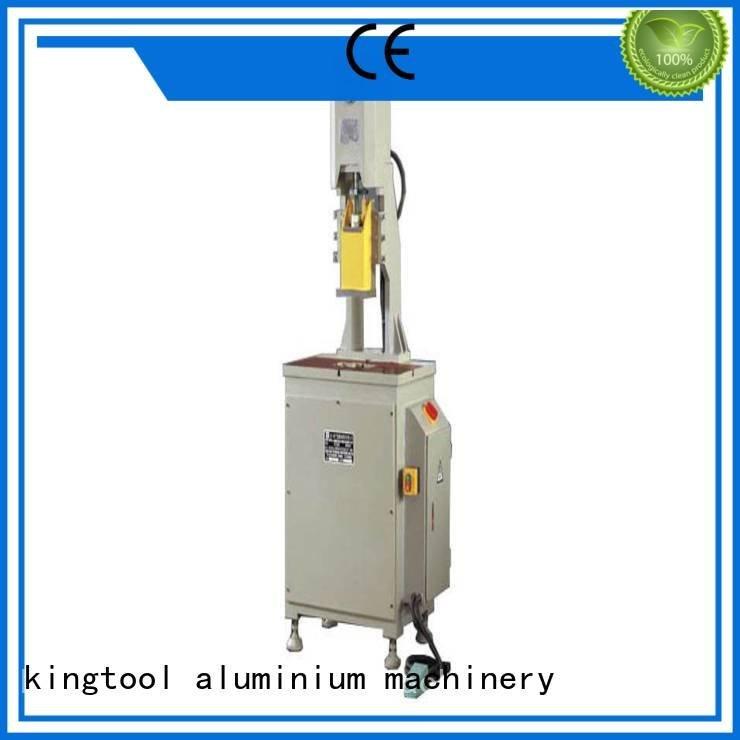 aluminium punching machine column double aluminum punching machine kingtool aluminium machinery Brand
