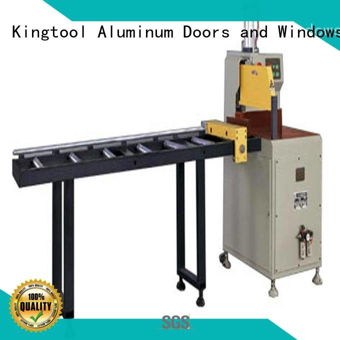 single angle type kingtool aluminium machinery aluminium cutting machine