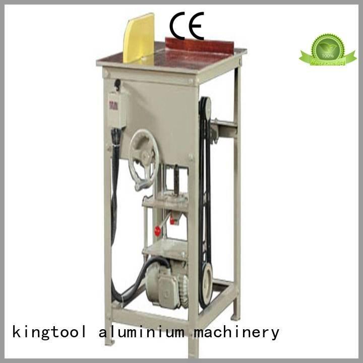 thermalbreak autofeeding aluminum kingtool aluminium machinery aluminium cutting machine