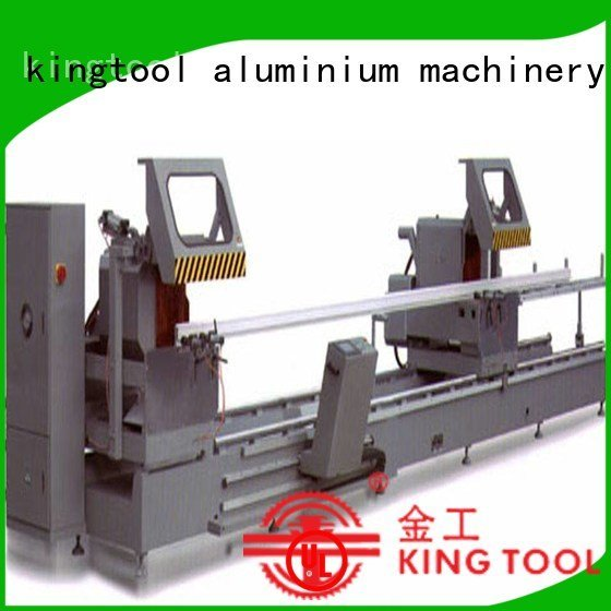 aluminium cutting machine price wall auto feeding multifunction kingtool aluminium machinery