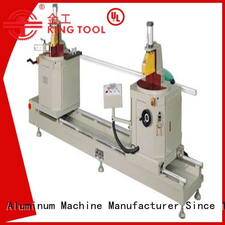 turntable type saw kingtool aluminium machinery sanitary profile cutting machine