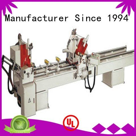 kingtool aluminium machinery single curtain 3axis aluminium cutting machine price angle