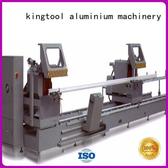 kingtool aluminium machinery Brand head heavy aluminium cutting machine full type