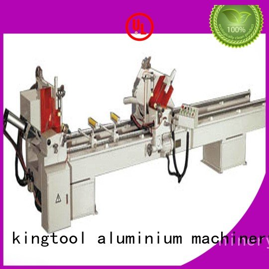 kingtool aluminium machinery Brand type saw aluminium cutting machine price full digital