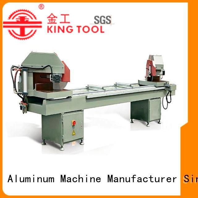 kingtool aluminium machinery Brand auto feeding display aluminium cutting machine price saw profile