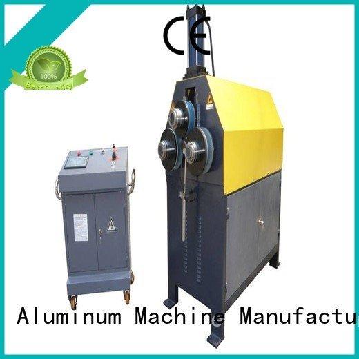 bending 3roller aluminum cnc kingtool aluminium machinery aluminium bending machine