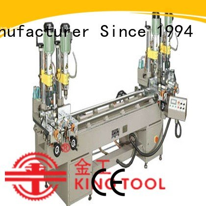 drilling and milling machine ware al OEM Aluminium Drilling Machine kingtool aluminium machinery