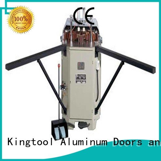 kingtool aluminium machinery corner aluminum duty aluminium crimping machine for sale heavy