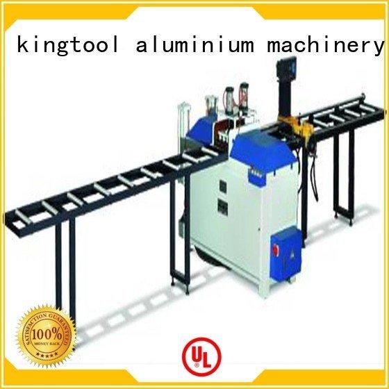 kingtool aluminium machinery Brand 2axis aluminium cutting machine price multifunction double