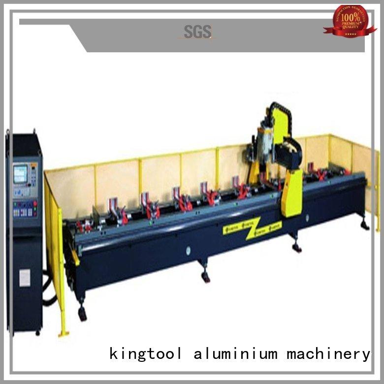 kingtool aluminium machinery Brand 5axis head industrial custom cnc router aluminum