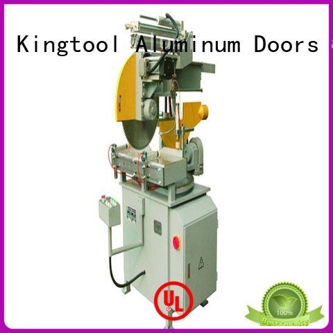 automatic full 45degree head kingtool aluminium machinery aluminium cutting machine price