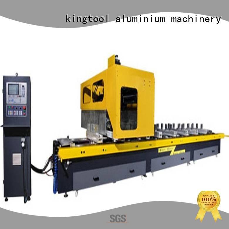 kingtool aluminium machinery cnc router aluminum machine cutting profile