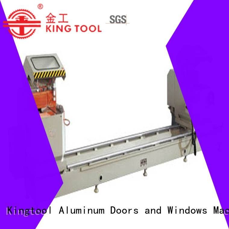 kingtool aluminium machinery aluminium cutting machine price curtain profiles full aluminum