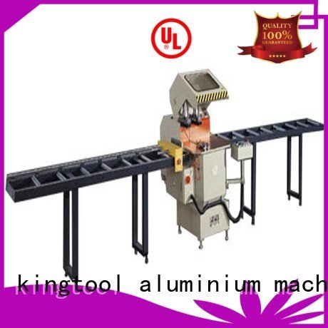 aluminium cutting machine price auto feeding cutting OEM aluminium cutting machine kingtool aluminium machinery