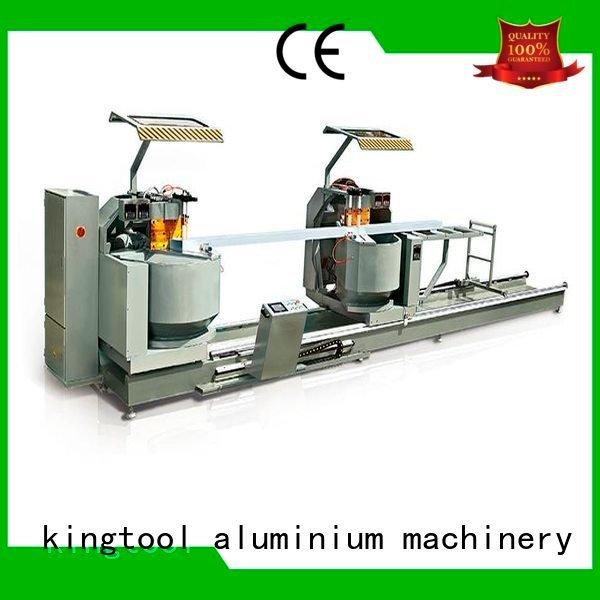 profiles heavy duty aluminium cutting machine kingtool aluminium machinery