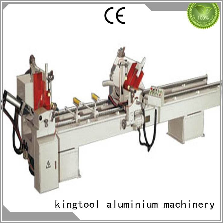 kingtool aluminium machinery Brand full curtain 2axis aluminium cutting machine price