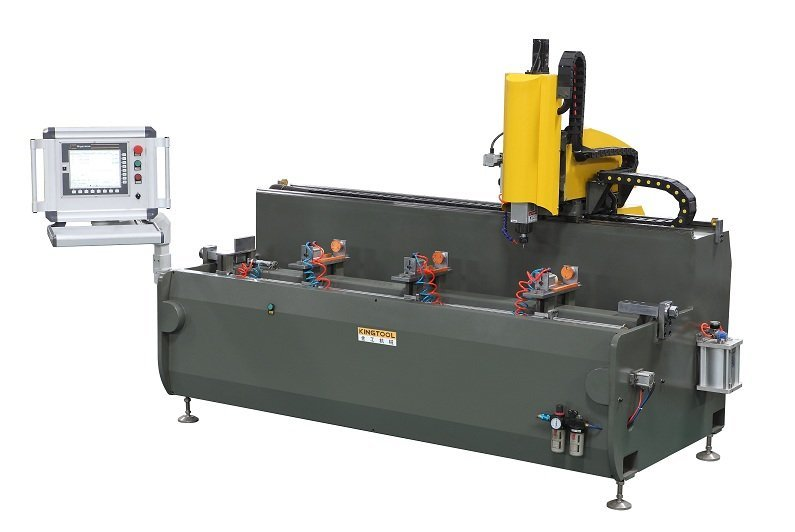 KT-G393 Aluminum Profile CNC Drilling and Milling Machine