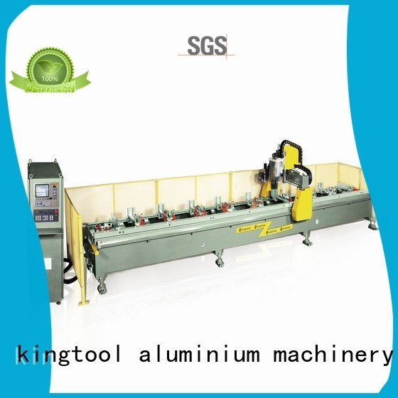 Custom aluminium router machine double router aluminum kingtool aluminium machinery
