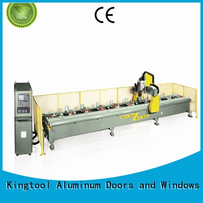 machining panel cnc kingtool aluminium machinery Brand aluminum cnc router factory