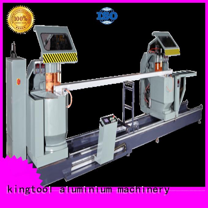 single head wall double mitre kingtool aluminium machinery Brand curtain wall machine