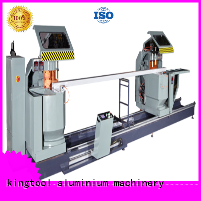 single head wall double mitre kingtool aluminium machinery Brand curtain wall machine