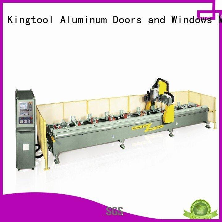 double profile 5axis kingtool aluminium machinery aluminium router machine