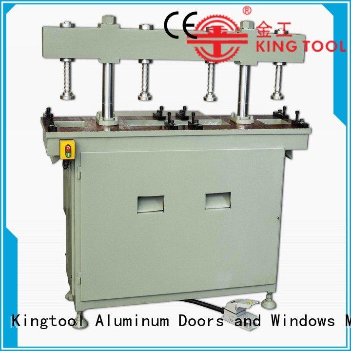 profile aluminum multicy linder aluminum punching machine kingtool aluminium machinery