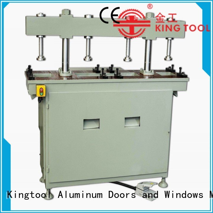 profile aluminum multicy linder aluminum punching machine kingtool aluminium machinery