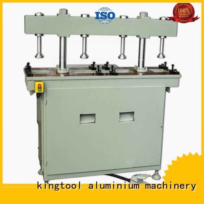 kingtool aluminium machinery Brand four column machine multicy linder profile aluminum punching machine