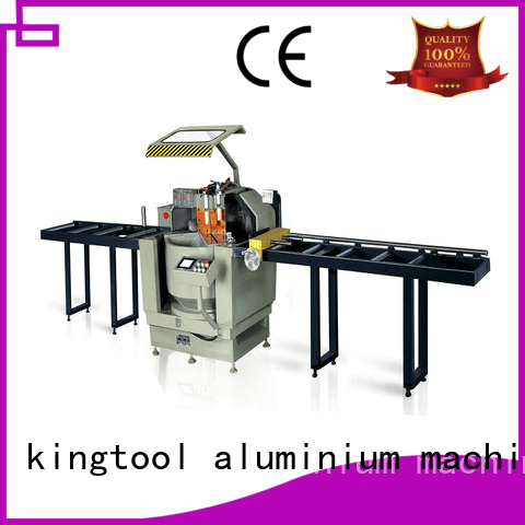 kingtool aluminium machinery Brand 45degree wall aluminium cutting machine window display
