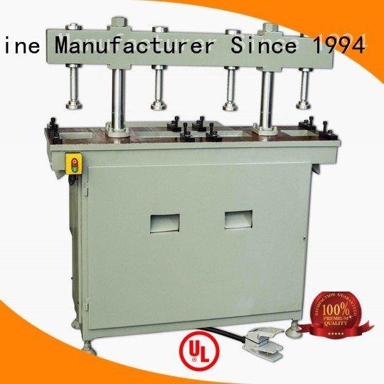 pnumatic hydraulic punching aluminum punching machine kingtool aluminium machinery