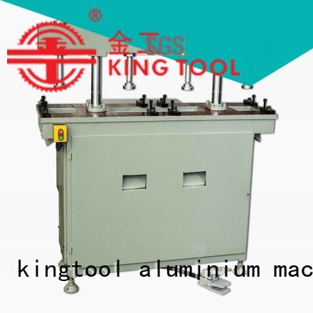 Custom aluminum punching machine column oil double kingtool aluminium machinery