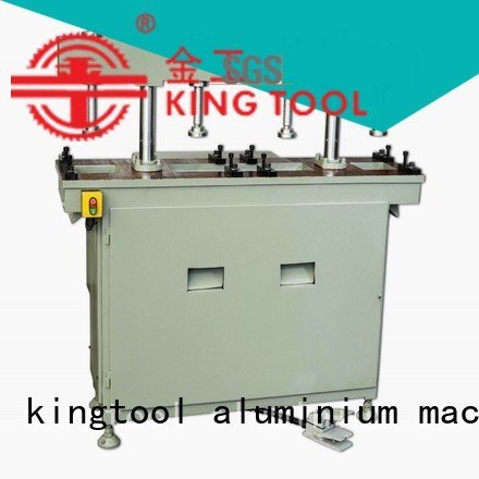 Custom aluminum punching machine column oil double kingtool aluminium machinery