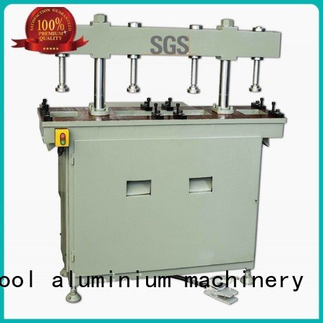 aluminium punching machine four column aluminum punching machine kingtool aluminium machinery Brand