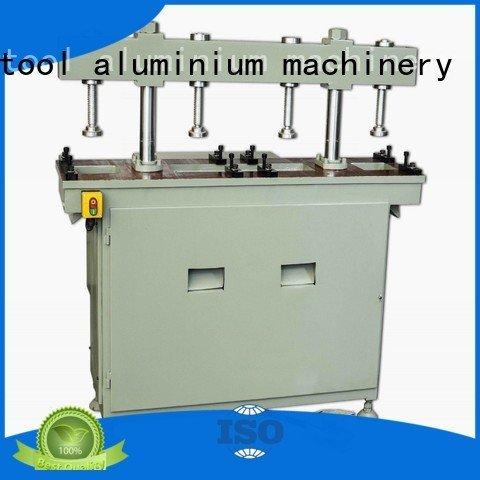 Custom aluminum punching machine column oil four column kingtool aluminium machinery