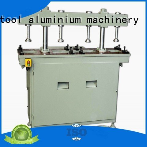 Custom aluminum punching machine column oil four column kingtool aluminium machinery