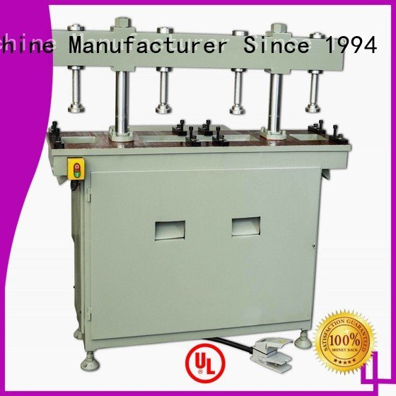 aluminium punching machine hydraulic double aluminum machine