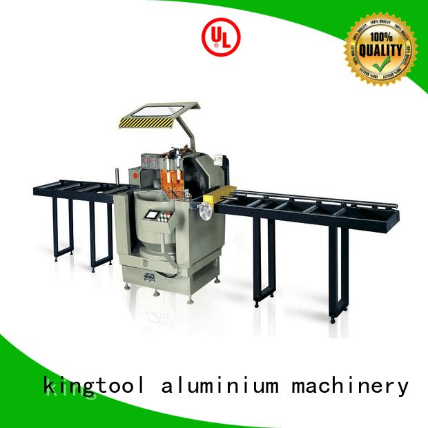 kingtool aluminium machinery Brand double aluminium cutting machine price wall thermalbreak